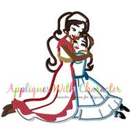Elena Isabel Sister Applique Design
