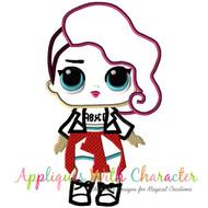 LOL Rocker Doll Applique Design