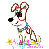 Pets Movie Max Applique Design