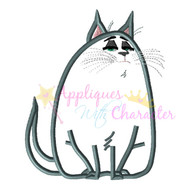 Pets Movie Chloe Applique Design