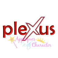 Plexus Logo Applique Design
