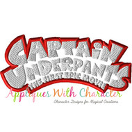 Captain Underpants Logo Applique Design