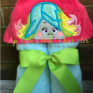 Peeker Glitter Sparkles Troll Movie Applique Design