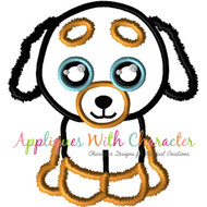 Beanie Boo Doggy Applique Design