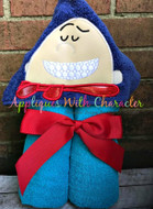 Captain Underwear Peeker Applique Design