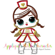 LOL Majorette Doll Applique Design