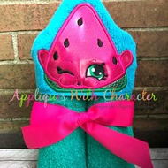 Shopkin Melon Peeker Applique Design