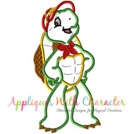 Frankie Turtle  Applique Design
