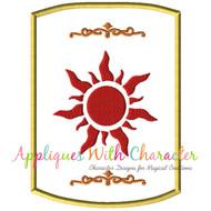 Tangled Lantern Applique Design