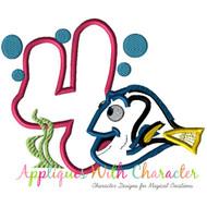 Dory Four Applique Design