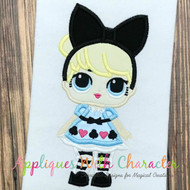 LOL Alice Doll Applique Design