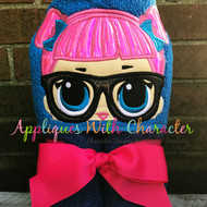 LOL Teacher's Pet Doll Peeker Applique Design