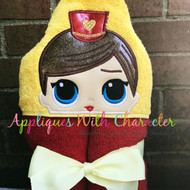 LOL Circus Doll Peeker Applique Design