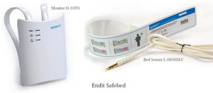 EmfitTM 'Safe Bed' Bed Monitoring System for Falls & Wandering Management