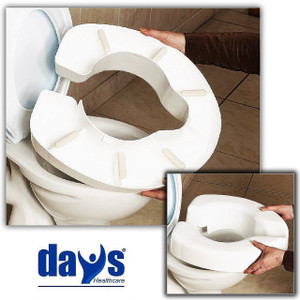 Novelle 10cm Clip-on Toilet Seat Raiser
