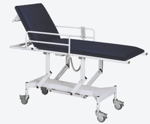 Doherty Salisbury Vari Height Couch With Siderails & Paper Holder