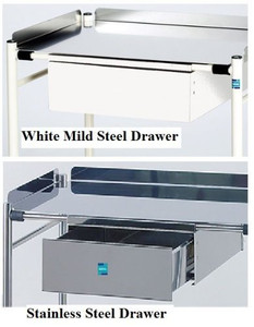 Doherty Trolley Stainless Steel Drawer Unit