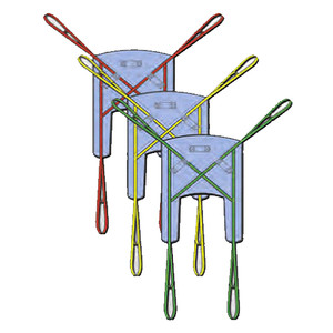LOCOMOTOR Universal Disposable Sling - Box of 10