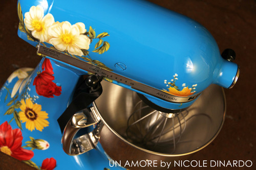 EXCLUSIVE - The Pioneer Woman {second} Edition Custom Floral KitchenAid Mixer {Mixer Not Included}