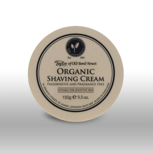 Taylor of Old Bond Street - Organic Shaving Cream 150g | Agent Shave