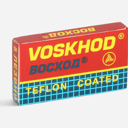 Voskhod Razor Blades - Teflon Coated   Agent Shave