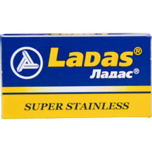 LaDas 'Super Stainless' Double Edge Safety Razor Blades | Agent Shave