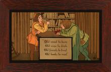 Taber Prang Print - Old Wood Framed