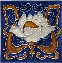 Porteous V30 Art Nouveau Tile