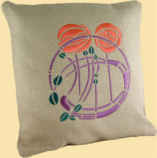 Mackintosh Hill House Stencil Embroidery