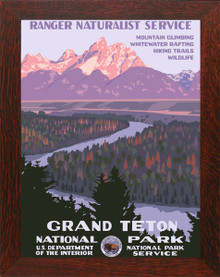 Grand Teton National Park Framed Poster