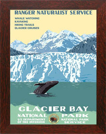 Glacier Bay National Park Framed Poster