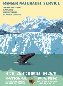 Glacier Bay National Park Poster