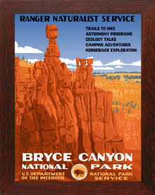Bryce Canyon National Park Poster Framed