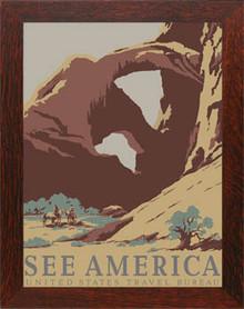 Arches National Park Framed Poster