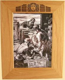 5X7 Aubrey Beardsley Picture Frame