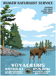 S&D Voyageurs National Park Poster