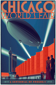 Chicago Zeppelin Regular Poster