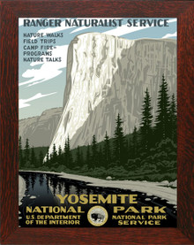 Yosemite National Park Framed Poster