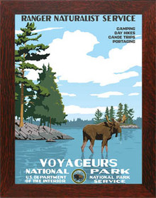 Voyageurs National Park Framed Poster