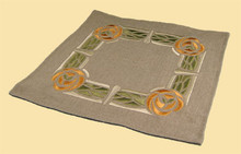 Thorny Rose Table Top Linen - Orange