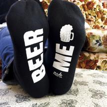 Beer Me Socks