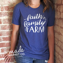 Faith Family Farm Adult Tee