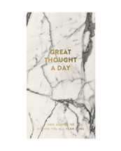 Marble Great Thought A Day Journal