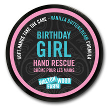 Birthday Girl Hand Rescue