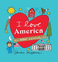 I Love America Book