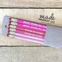 Baby Girl Pencil Set