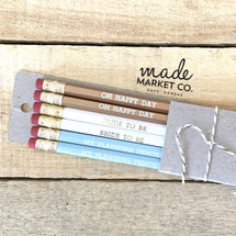 Bride To Be Pencil Set