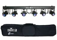 Chauvet DJ 6SPOT High power tricolor LED Free travel bag!