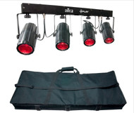 Chauvet DJ 4PLAY LED Moonflowers Free travel bag!