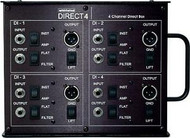 Whirlwind Direct4 Channel Direct Stage Box DI
